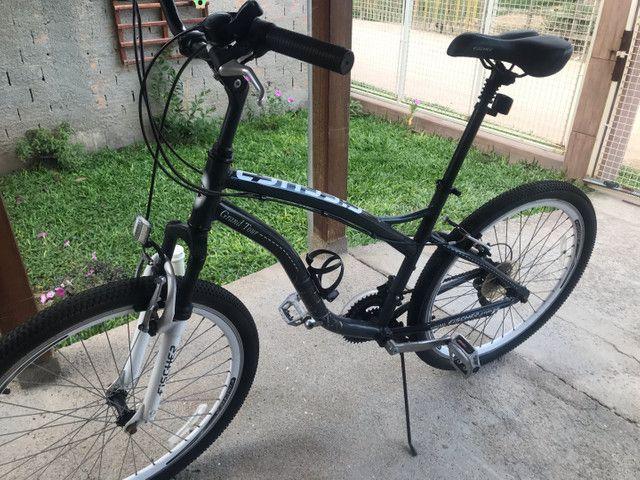 Bicicleta em estado de nova