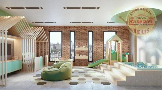 Apartamento com 1 dormitório à venda, 45 m² por R$ 207.000,00 - Canto do Forte - Praia Gra - Foto 9