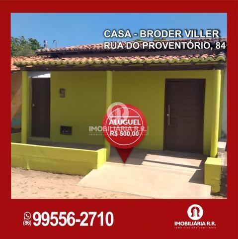 Casa para aluguel, 2 quartos, 1 suíte, Primavera - PARNAÍBA/PI