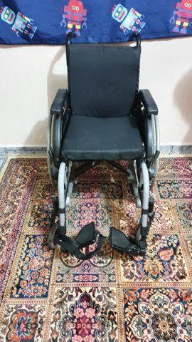 Cadeira de Rodas Ortobras Usada R$1000,0