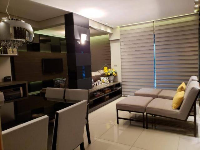 Apartamento com 2 dormitórios à venda, 79 m² por R$ 340.000,00 - Centro Sul - Cuiabá/MT - Foto 2