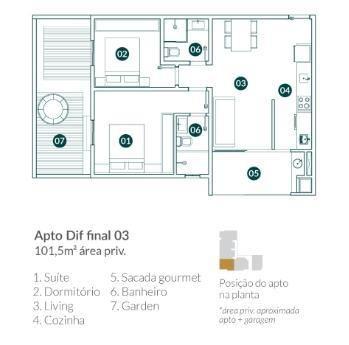 Apartamento para Venda em Balneário Camboriú, vila real, 2 dormitórios, 1 suíte, 2 banheir - Foto 12
