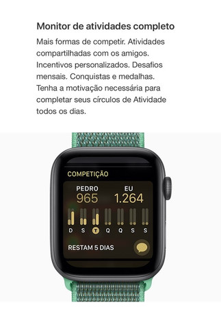Apple Watch Series 4 (gps + Cellular) - 44mm - Foto 4