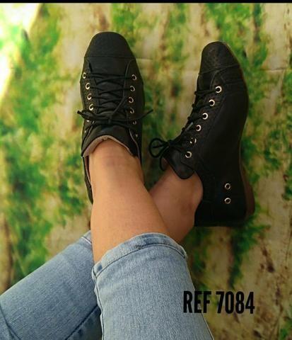 Vendo sapatos feminino em couro legítimo - Foto 2
