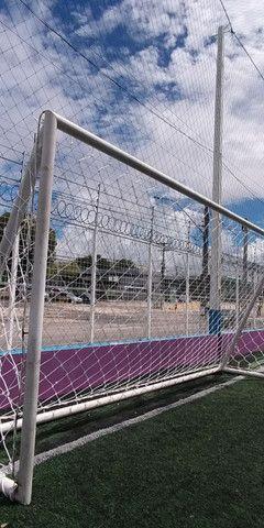 Trabalho com redes de proteçao - Foto 5