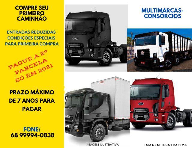 Compre seu caminhão boiadeiro