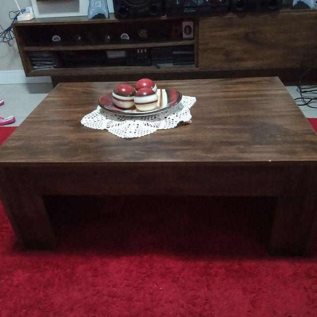 Vendo painel e mesa de centro 100%MDF - Foto 3