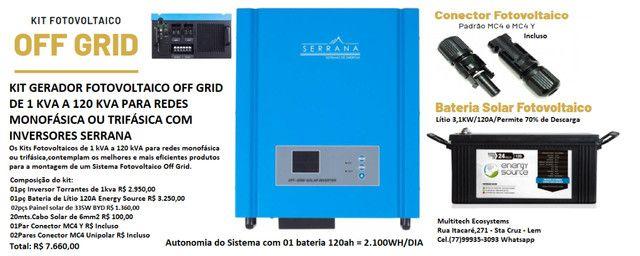 Inversor Solar Off-Grid Monofásico