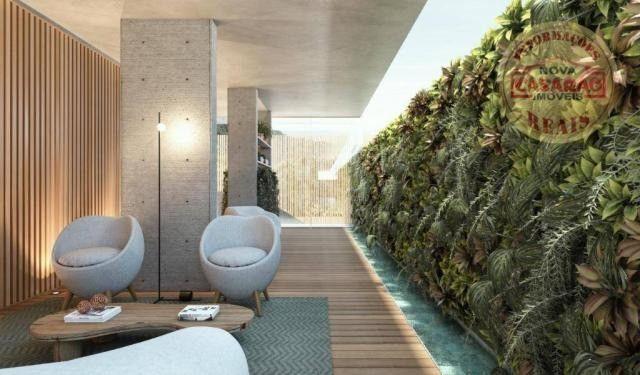 Apartamento com 1 dormitório à venda, 45 m² por R$ 207.000,00 - Canto do Forte - Praia Gra - Foto 8