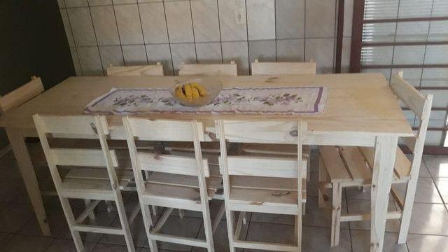 Mesas e banquinhos dobráveis  - Foto 5