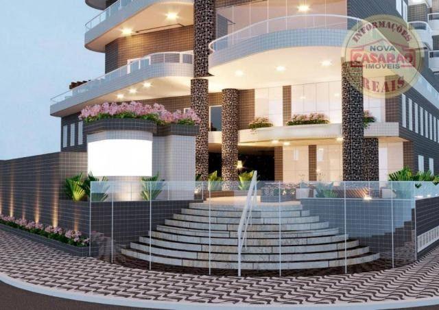 Apartamento com 1 dormitório à venda, 46 m² por R$ 232.000 - Vila Caiçara - Praia Grande - Foto 10