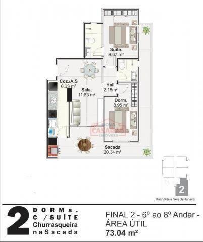 Apartamento com 01 dormitório na Vila Mirim, Praia Grande - Foto 3