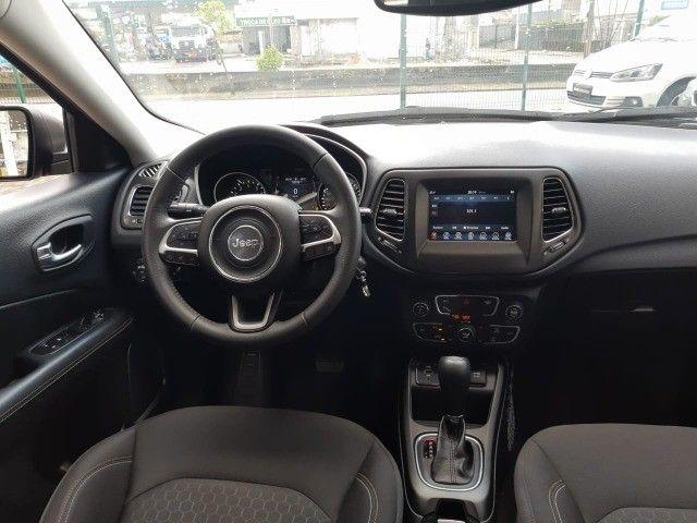 Jeep Compass Sport 2.0 Flex - 2018 - Novíssimo, Revisado e c/ Garantia - Foto 10