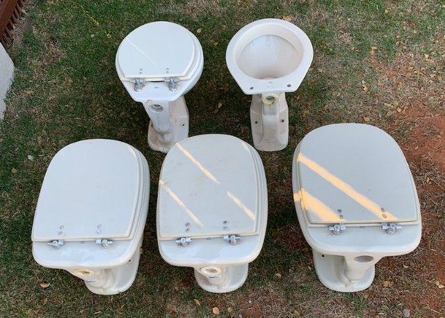 Vaso sanitário convencional usado - Foto 3