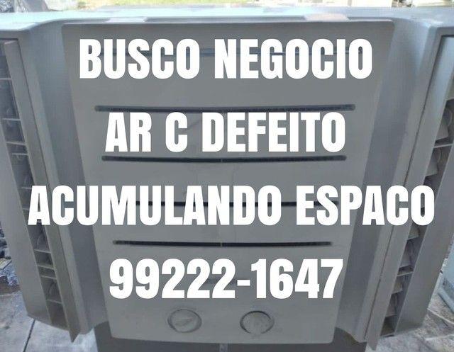 Ar Condicionado Seminovo 10.000 Btu 110V Entrego Agora Gratis Garantia Ac Cartão 5x Pix  - Foto 2
