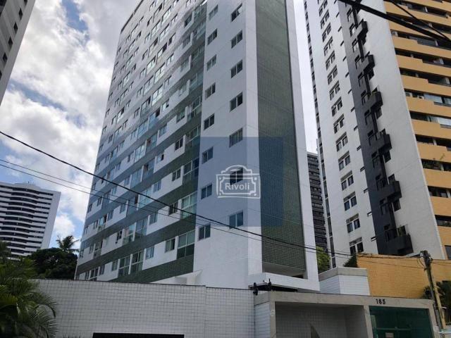 Apartamento para alugar, 48 m² por R$ 2.100,00/mês - Tamarineira - Recife/PE - Foto 11