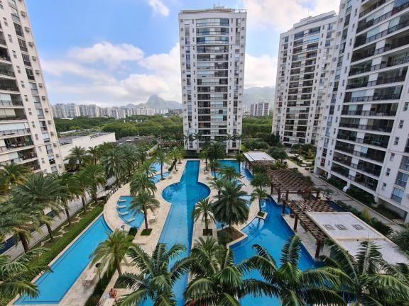 Apartamento para Venda em Rio de Janeiro, Jacarepaguá, 3 dormitórios, 3 suítes, 4 banheiro