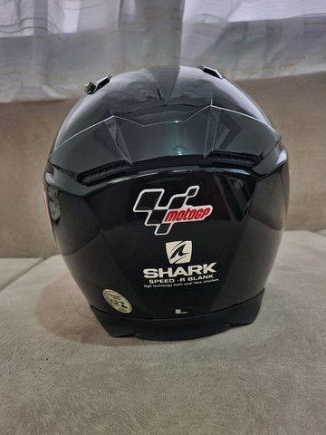 Capacete Shark Speed R impecável sem detalhes,  - Foto 5