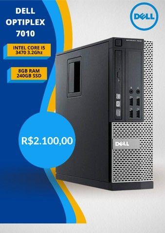 Pc Dell Mini Optiplex 7010 i5 3470 3.2Ghz 8Gb Ram 240GB Ssd! Com Nf-e! - Foto 4