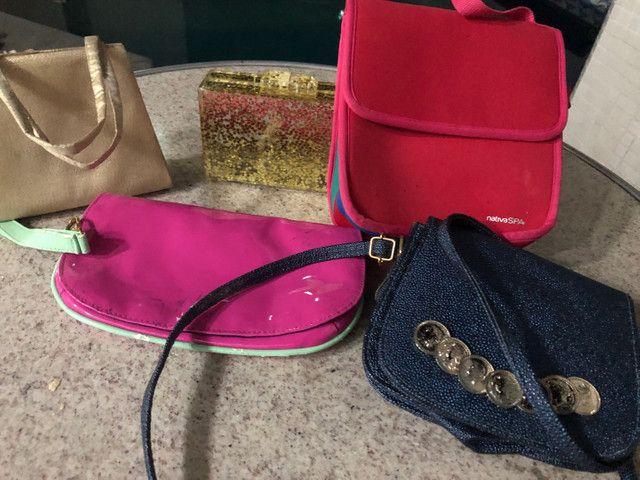 Combo bolsas e 1 lancheira