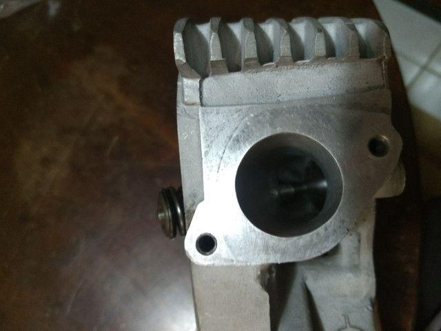 Cabeçote cg 150/bros 33x26 banca de fluxo - Foto 3