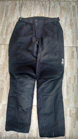 Jaqueta e calça de motoqueiro  - Foto 2