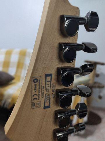Guitarra Ibanez JEM Jr. Black - na caixa (somente Maringá) - Foto 3