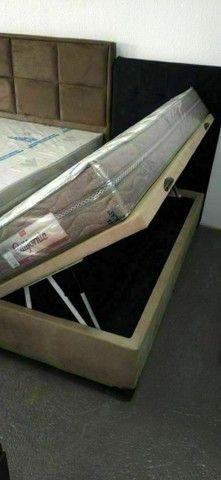 Base box baú,box baú cama box bau - Foto 6