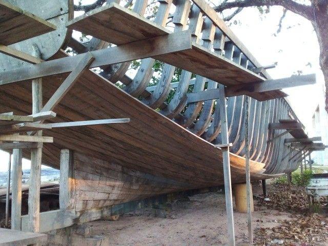 Vendo Barco em construção de 25m² em Itaipava - ES - Foto 3