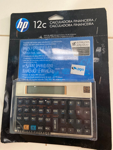 HP 12 C Nova