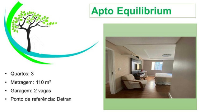 apartamento no equilibrium