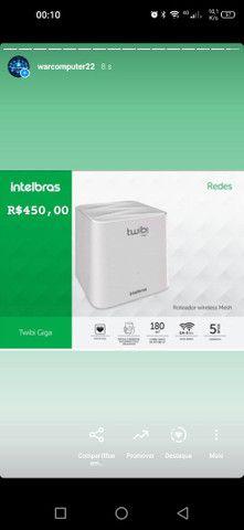 Twibi Giga Intelbras novo lacrado com NF-e