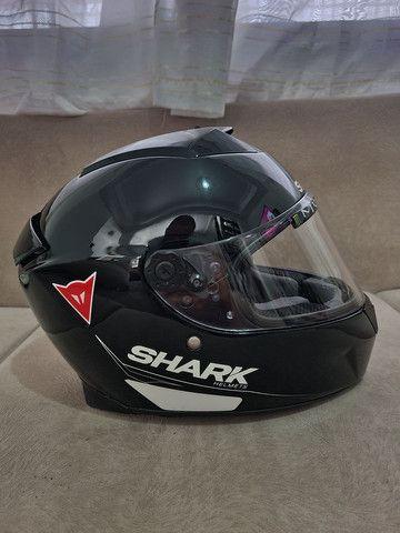 Capacete Shark Speed R impecável sem detalhes,  - Foto 4