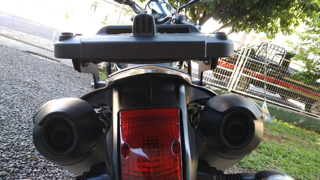 Baú givi XT660 - Foto 2