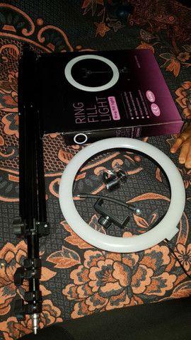 Ring Light 26cm com tripé apenas 120,00 (frete grátis) - Foto 3