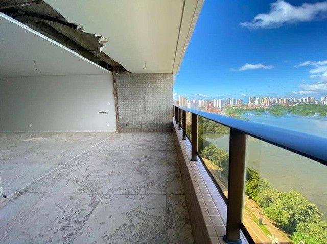 AB114 - Apartamento com 04 suítes/ frente lagoa/ nascente - Foto 4