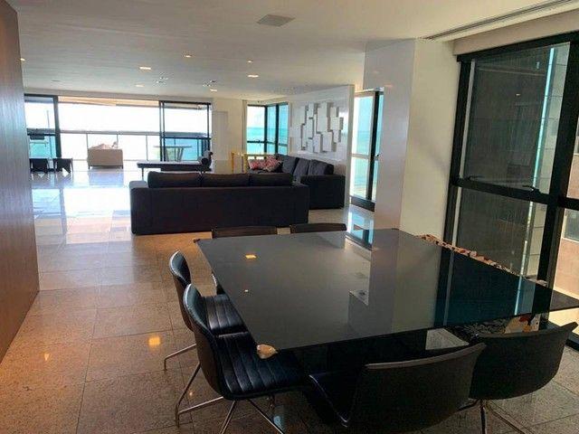 Apartamento para venda possui 349m² com 4 suítes na Orla da Ponta Verde - Maceió - AL - Foto 12