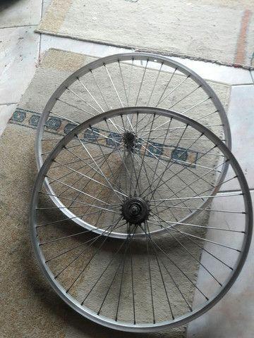 rodagem de bicicleta - Foto 2