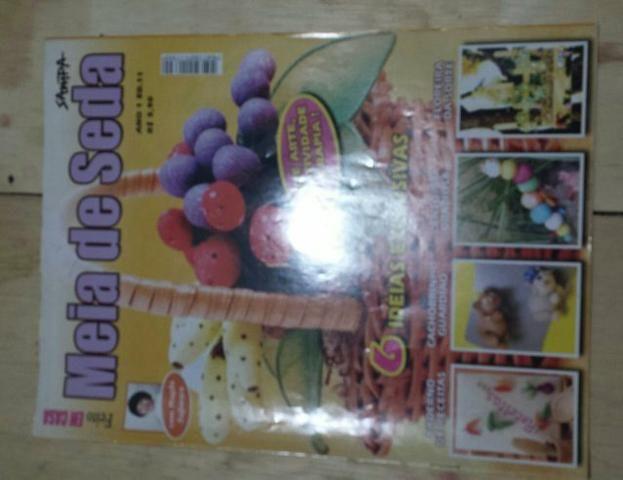 5b9c1ad2bf Kit artesanato com meia de seda - Livros e revistas - Res Parque ...