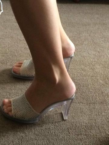 8eb2f327df Tamanco Salto cristal 36 - Roupas e calçados - Bigorrilho