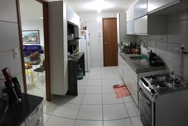 Apt com 3 quartos na Ponta Verde - 96m² - Foto 12