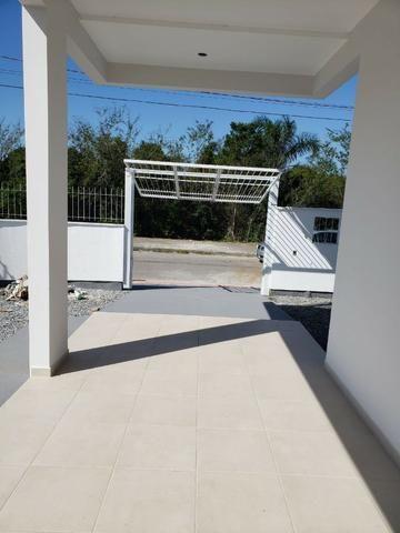 Nova Palhoça De Esquina Por R$ 250 Mil - Sobrado Com 2 suítes e Massa Corrida - Foto 17