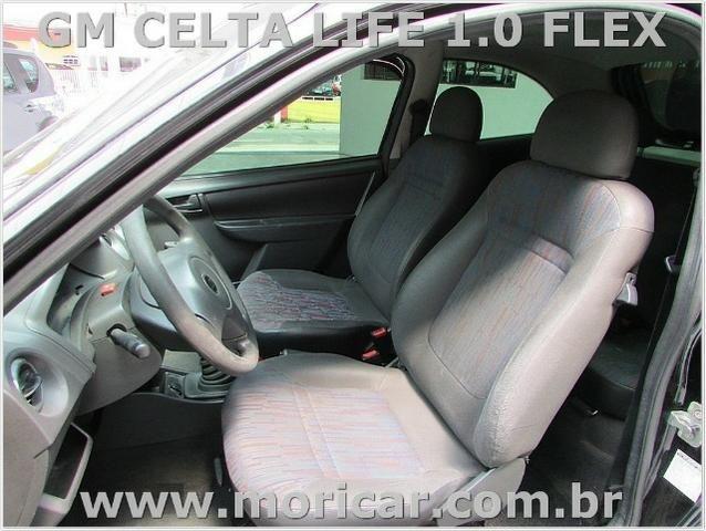Gm Celta Life 1.0 Flex - Ano 2009 - Bem Conservado - Foto 4