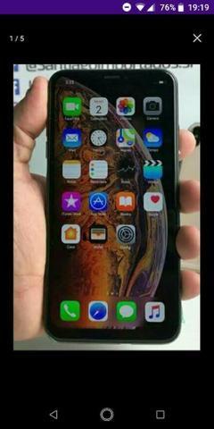 Iphone xs max 256 gigas vendo ou troco - Foto 3