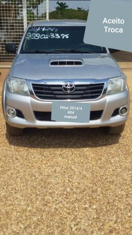 Hilux 2014/4 STD 4x4 Diesel (Aceito Troca carro de maior ou menor valor)