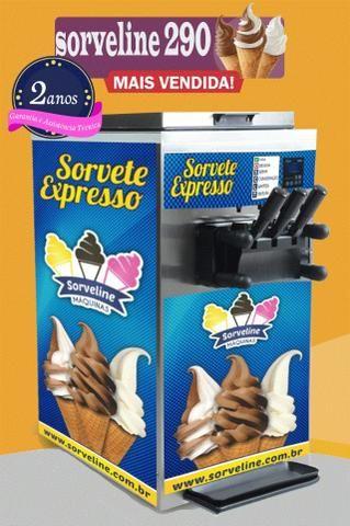Máquinas de sorvete/açaí novas, fabricadas ao seu gosto! - Foto 3