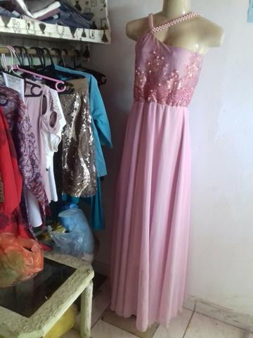 Vendo lindo vestido Rose tamanho 36 - Foto 2