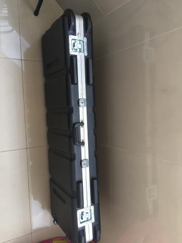 Hardcase para teclado de 61 e 76 teclas preço pra vender rápido! - Foto 2