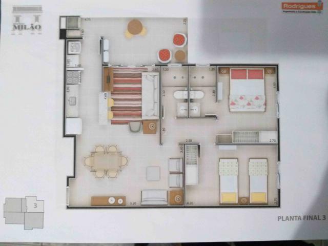 Apartamento à venda com 2 dormitórios em Itaguá, Ubatuba cod:9050 - Foto 5