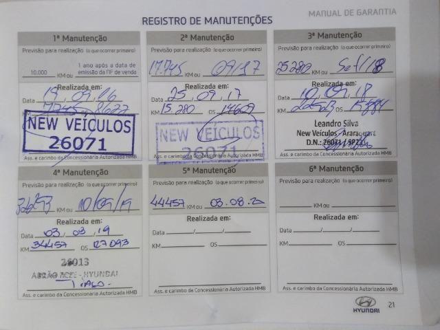 Hyundai HB20S Impress 1.6 Automatico 36.000Km 6 anos de garantia - Foto 16